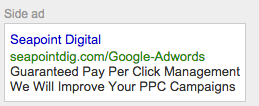 Adwords without puct