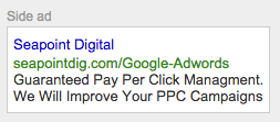 Google Adwords Copy