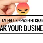 newsfeed facebook change business